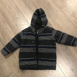 Boys stripe coat